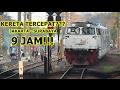 Wuzzz!!! Kereta Tercepat di Indonesia, Cuma 9 Jam Jakarta-Surabaya | Argo Bromo Anggrek