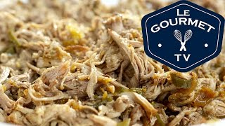 Stout Braised Pulled Pork Recipe - LeGourmetTV