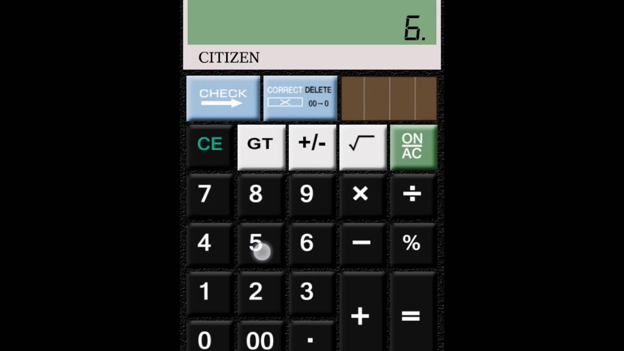 Real Citizen Calculator Youtube