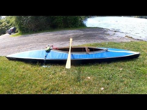 Vintage Folding Kayak- Folbot Sporty- Test Paddle
