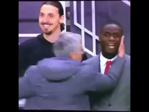 Ibrahimovic and bailly funny moments