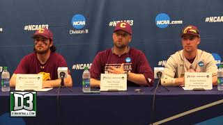 2018 D-III World Series Game 8: Concordia-Chicago postgame