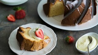 Cream Cheese Pound Cake Recipe - Fifteen Spatulas