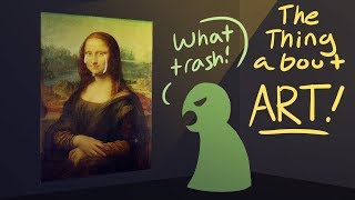 The Thing about Art