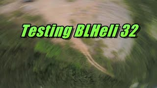 Testing BLHeli 32 Features (current limiting, timing, & max acceleration)