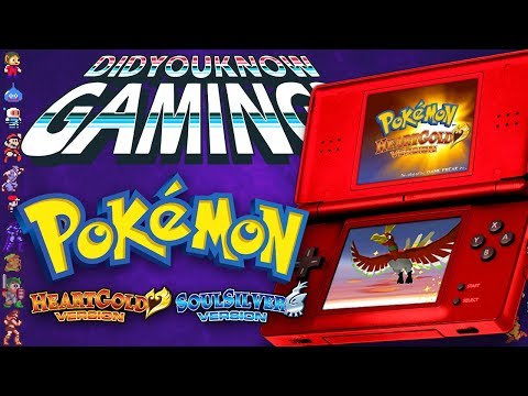 Pokemon Heart Gold and Soul Silver - Did You Know Gaming? Feat. Dazz