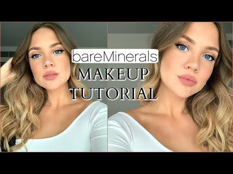 Makeup Tutorial using ALL BareMinerals | Elanna Pecherle thumbnail