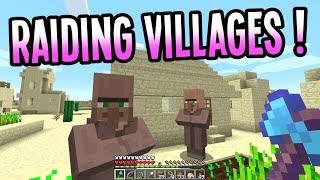 Raiding for Emeralds!! - Paul Plays Minecraft - Ep. 32 - Let's Play Minecraft Survival