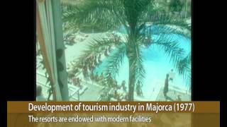 Development of tourism industry in Majorca, 1977 | LUX MALLORCA