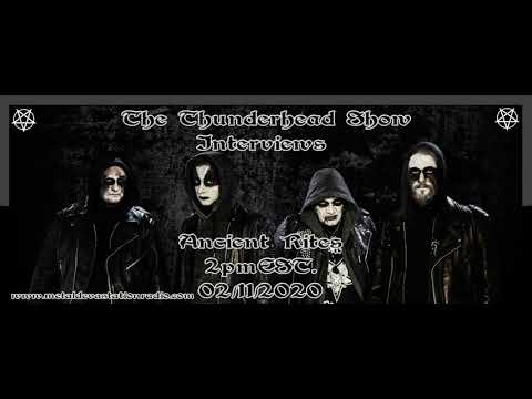 Exclusive Interview With Erik Sprooten Of Ancient Rites On The Thunderhead Show