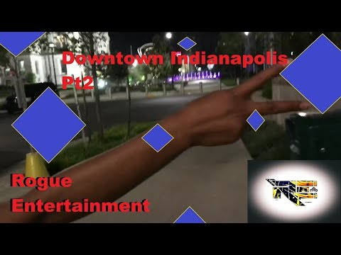 Indianapolis Indiana Downtown Canal Walk AND DOUNTS IN THE THUNDERBIRD Pt 2 of Blog