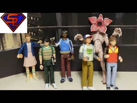 Funko Stranger Things 3-Pack Will Dustin /& Demogorgan Action Figure Set