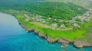 A day on Christmas island from the Air - Drone footage