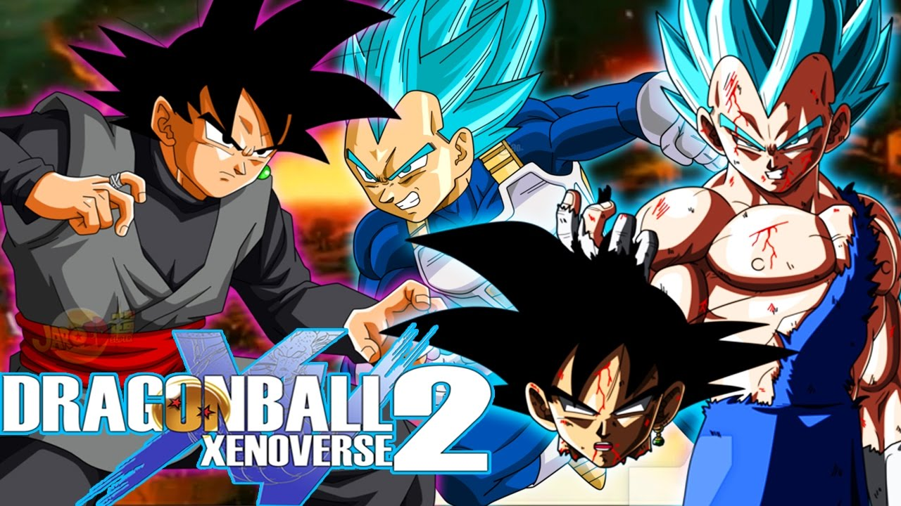 Super Dark Kamehameha Vs Final Flash Goku Black Vegeta Gameplay