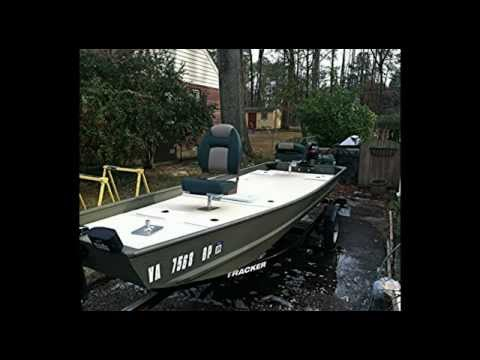 My Tracker Topper 1542 Jon Boat Conversion Youtube