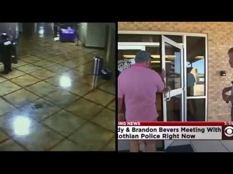 Gait comparison of Randy Beavers to the suspect in the CCTV surveillance