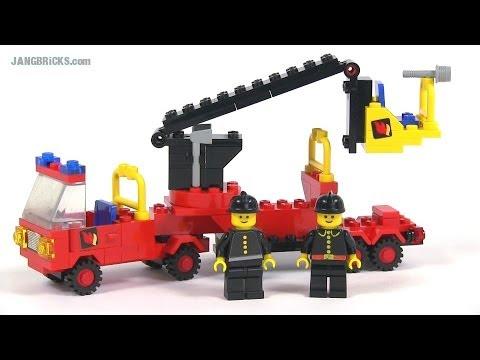 LEGO Classic 6690 Snorkel Pumper fire truck from 1980!