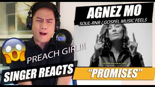 Agnez Mo - Promises | SINGER REACTION