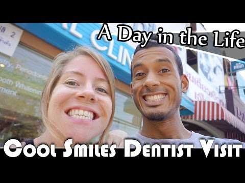 COOL SMILES DENTIST VISIT - LIVING IN THAILAND DAILY VLOG (ADITL EP267)