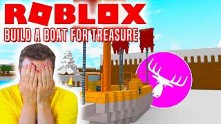 CAN ELGE SWIM? -Roblox Build A Boat For Treasure english