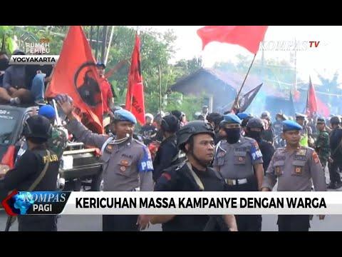 Kampanye di Yogyakarta, Massa dan Warga Ricuh