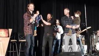 Jared Padalecki and Jensen Ackles SeaCon16 opening