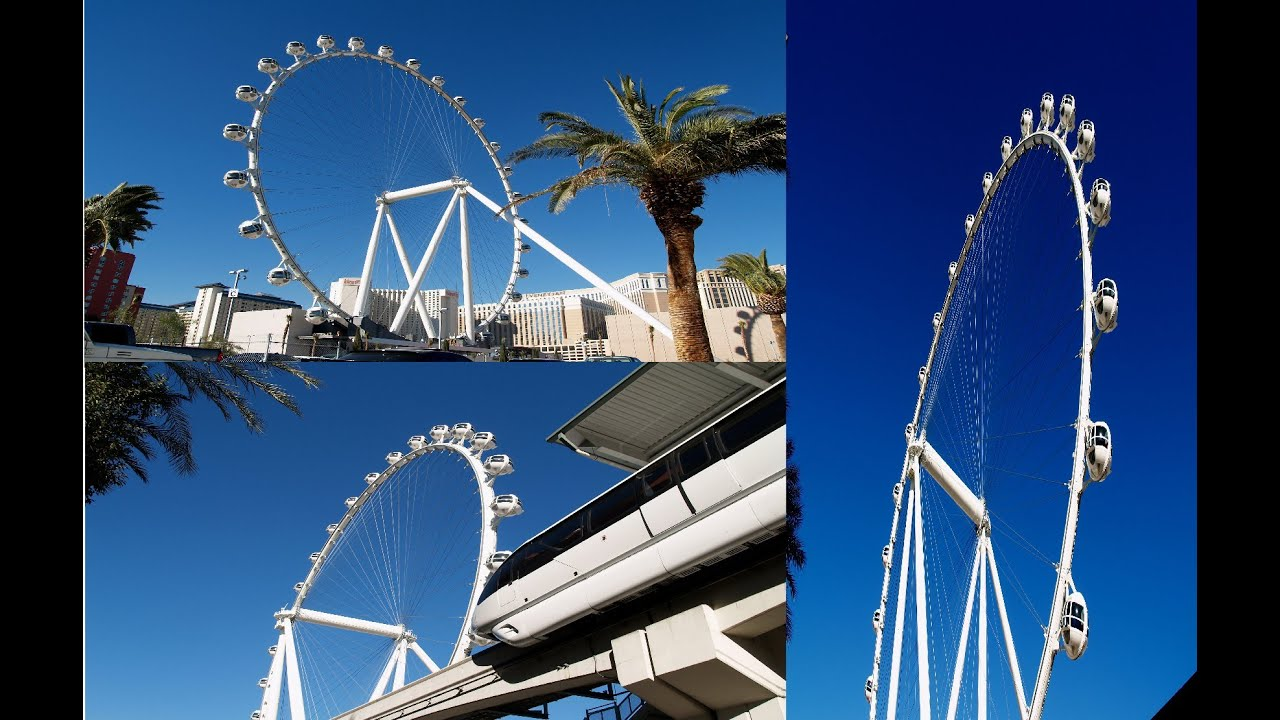 World's Biggest Ferry Wheel at The LINQ- Las Vegas ...