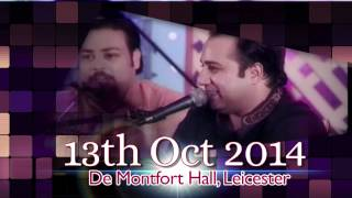 Qawwali with a Tribute to Bollywood - Ustad Rahat Fateh Ali Khan in Leicester - 13th Oct 2014