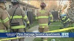 Vacaville 3-Alarm Fire Destroys A Dozen Apartments