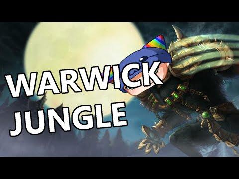 League of Legends - Devourer Guinsoos Warwick Jungle - Full Gameplay Commentary
