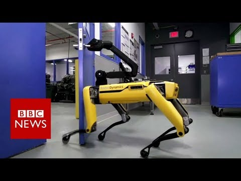 The robot that can enter your house – BBC News