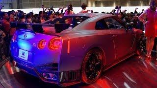 2014 Nissan GT-R NISMO @ Tokyo Motor Show 2013 part1