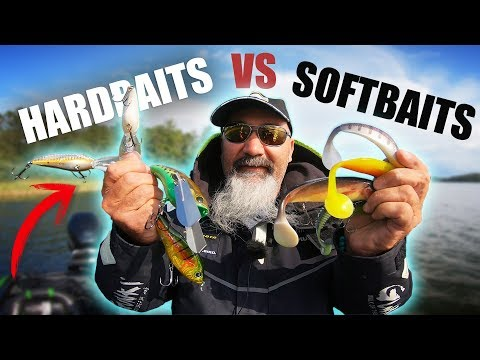 PIKE FISHING: Hardbaits Vs Softbaits CHALLENGE 🐊 (ft. Frédéric Jullian)