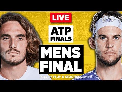 🔴 TSITSIPAS Vs THIEM | ATP Finals London 2019 | LIVE Tennis Stream Play-by-Play