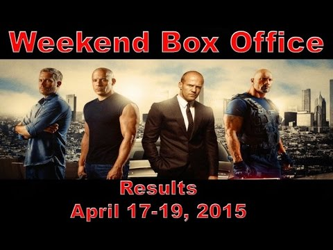 Weekend box office results april 17 19 2015 youtube - Movie box office results this weekend ...