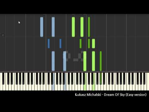 Dancing Line - Dream Of Sky (Easy Synthesia)