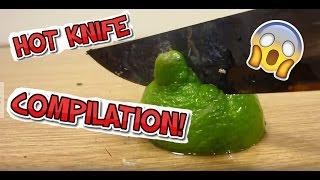 Satisfying Hot Knife vs Compilation 🔥