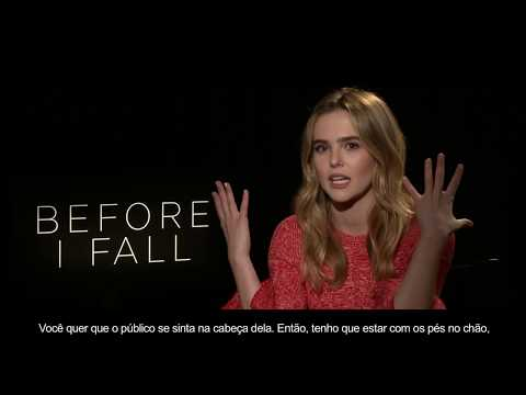 Exclusivo: Zoey Deutch,  Antes Que Eu Vá.Repórter Hollywood