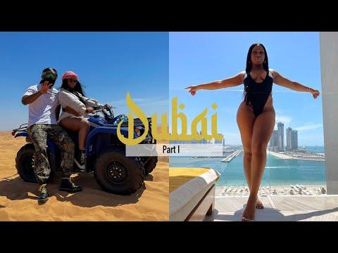 DUBAI 2021   Luxury Birthday Baecation Pt. 1   Miracle garden, Fountain show, Dubai Mall & Aquarium