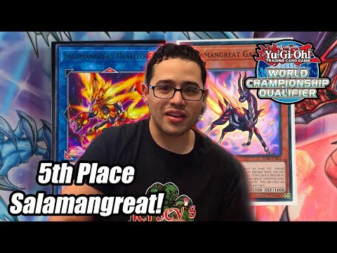 Yu-Gi-Oh! 5th Place Regional: Salamangreat Deck Profile 2019! February 2019! Ft. Alex (In-Depth)