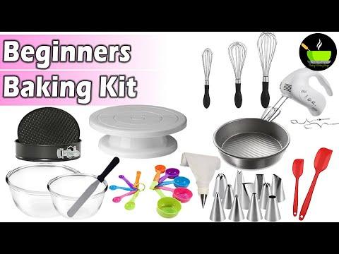 Baking Kit For Beginners | Essential Baking Tools For Beginners | Baking Essentials For Starters
