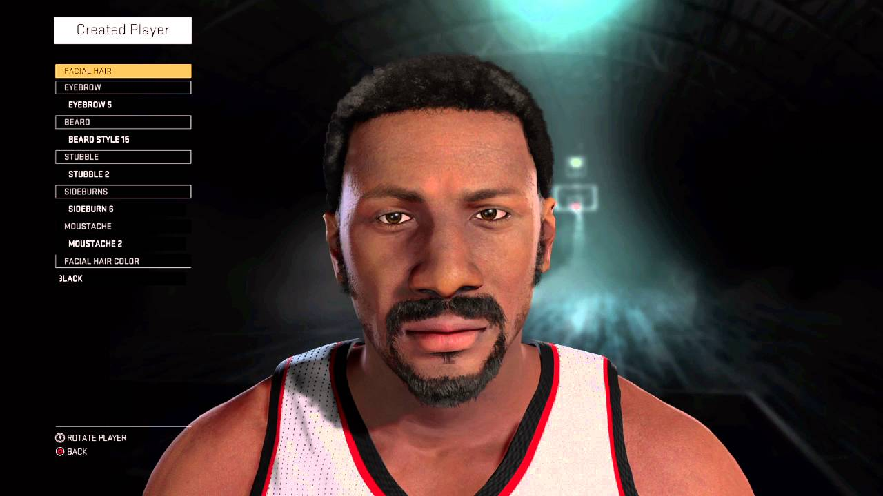 NBA 2K16 Creation Tutorial Bob Lanier