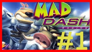 Mad Dash Racing: Level 1 - Tiki Village