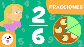 Fracciones para niños - Aprende las fracciones con pizza - Introducción