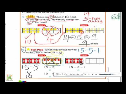 Grade1 Math subtraction strategies part 2 Chapter 4 Subtraction Strategies   Break Apart to Subtract