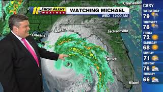 Hurricane Michael path: Strong Category 4 storm nears Florida Panhandle