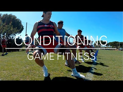 Rugby Game Conditioning Drill