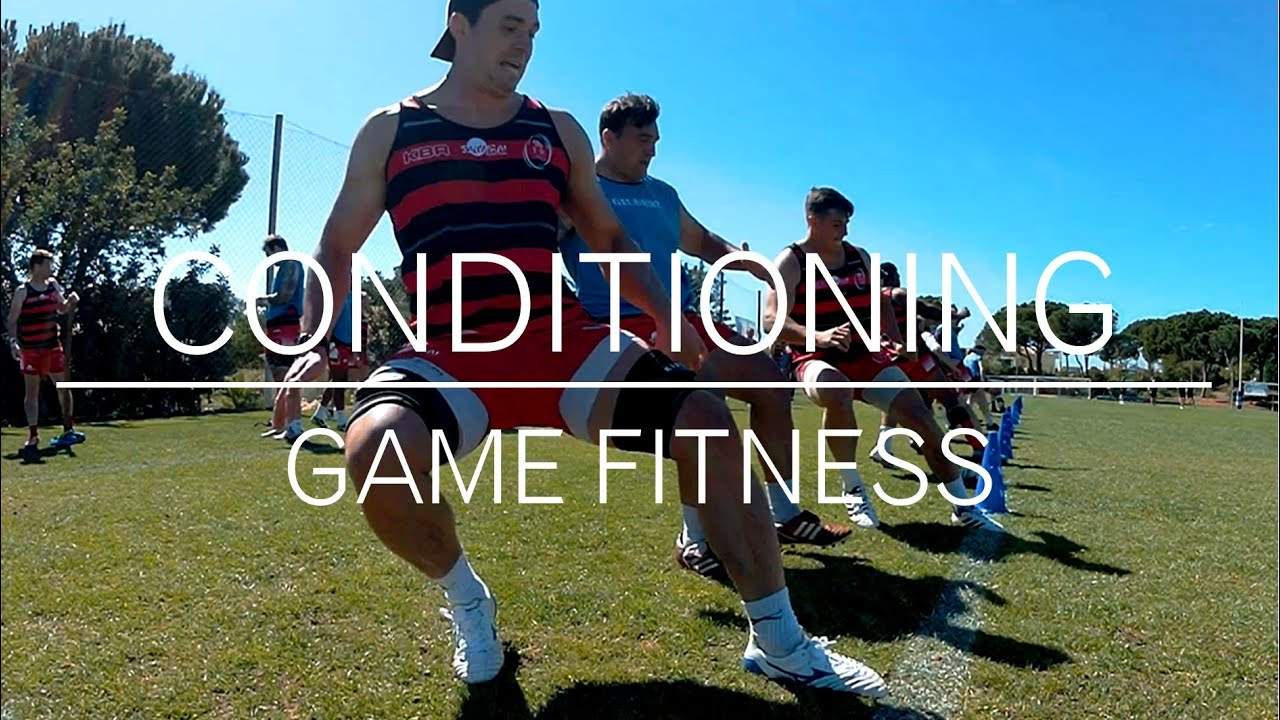 RUGBY GAME CONDITIONING DRILL - REPLICATE MATCH FITNESS