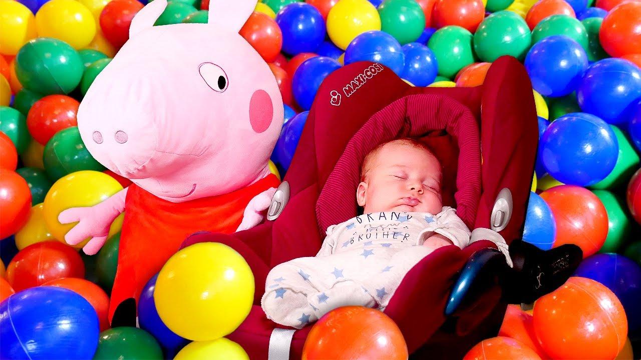 Peppa Wutz Und Ihre Baby Born Puppe Mamas Schule Guten Morgen