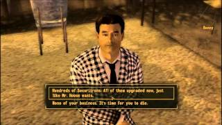 Fallout: New Vegas - 4 ways to kill Benny